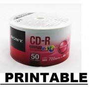 50 CDR SONY PRINTABLE