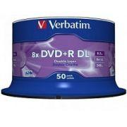 50 DUAL LAYER VERBATIM 8X LOGO 8.5GB ( Id Mkm 003)