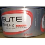 50 DVD-R ELITE 8X PRINTABLE ( RITEK G05 )