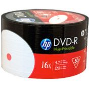 100 DVD-R HP 16X PRINTABLE