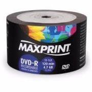 50  DVD- R MAXIPRINT 16X  COM LOGO