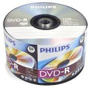 50 DVD-R PHILIPS 16X LOGO