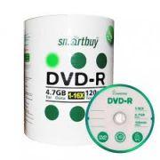 100 DVD-R SMARTBUY 16X LOGO