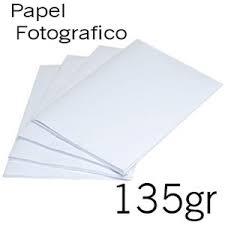 1000 PAPEL FOTO 135 GR. COM BRILHO A4
