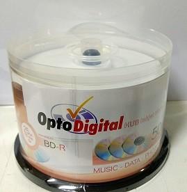 50 BLURAY OPTODIGITAL PRINT. 6X 25GB