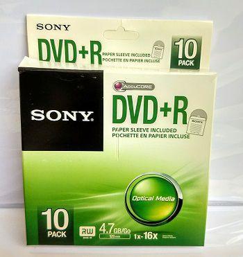 50 DVD+R SONY 16  COM LOGO