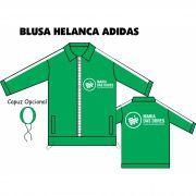Blusa Helanca Gaucha Adidas Aberta Maria Das Dores