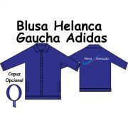 Blusa Helanca Gaucha Adidas Aberta Nova Geração