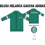 Blusa Helanca Gaucha Adidas Inspire