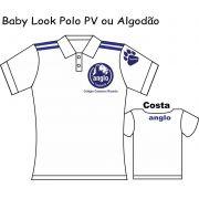 Camiseta Baby Look Polo Anglo Taubaté