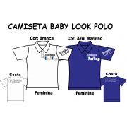 Camiseta Baby Look Polo Univap 6 ao Técnico