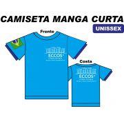 Camiseta Manga Curta Eccos