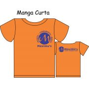 Camiseta Manga Curta Ed. Infantil ao Fundamental Máximus