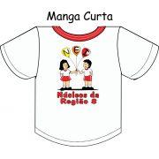 Camiseta Manga Curta Núcleo da Região 8