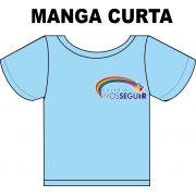 Camiseta Manga Curta Prosseguir