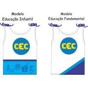 Camiseta Sem Manga Feminina CEC  Malha PV