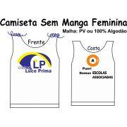 Camiseta Sem Manga Feminina Luce Prima