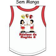 Camiseta Sem Manga Núcleo da Região 8