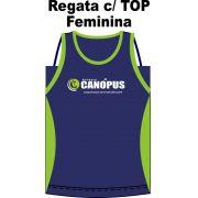 Kit Regata Feminina c/ Top Canópus