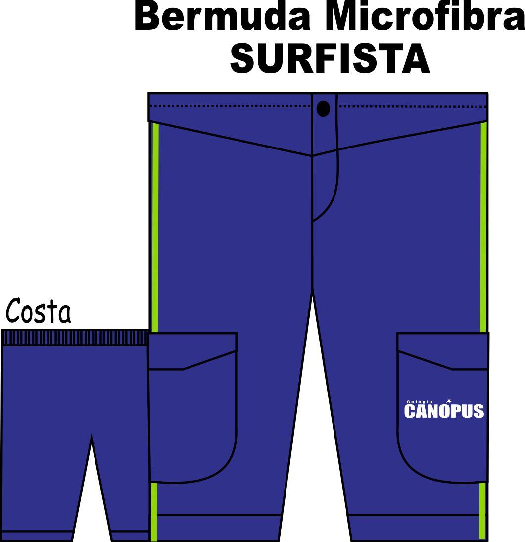 Bermuda Masculina SURFISTA Canópus