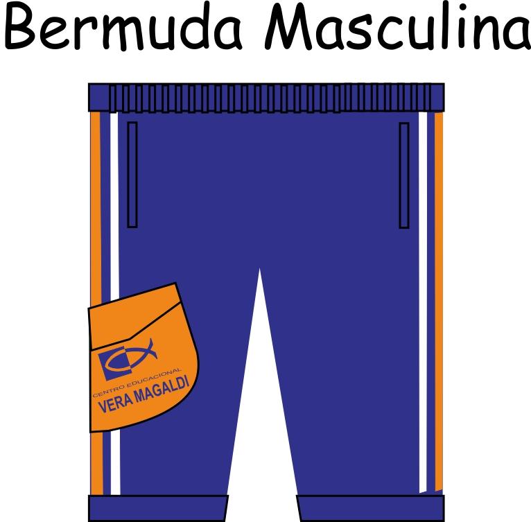Bermuda Masculina Vera Magaldi