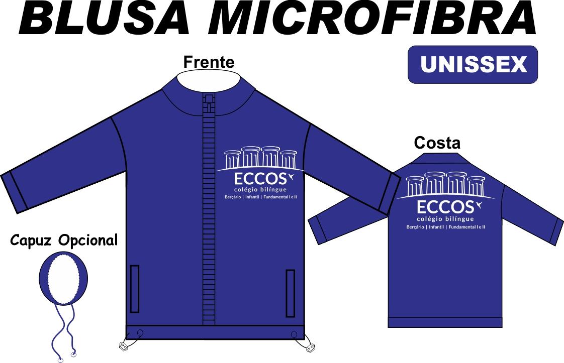 Blusa Microfibra Eccos