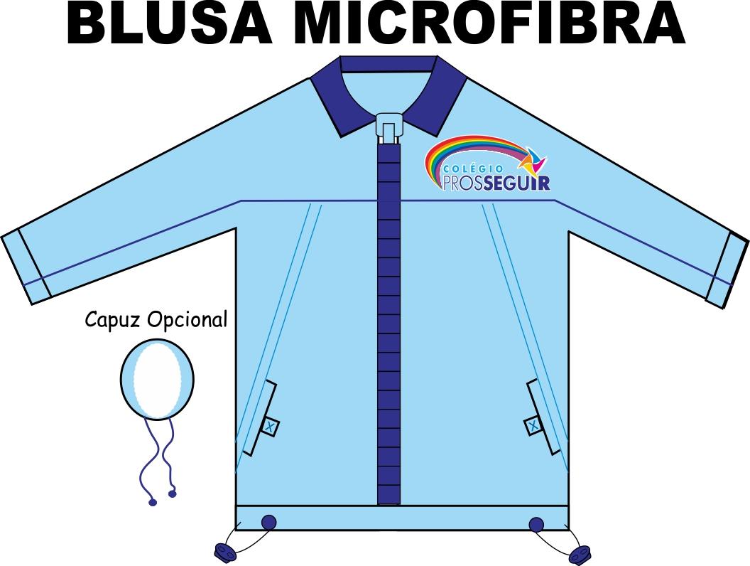 Blusa Microfibra Prosseguir