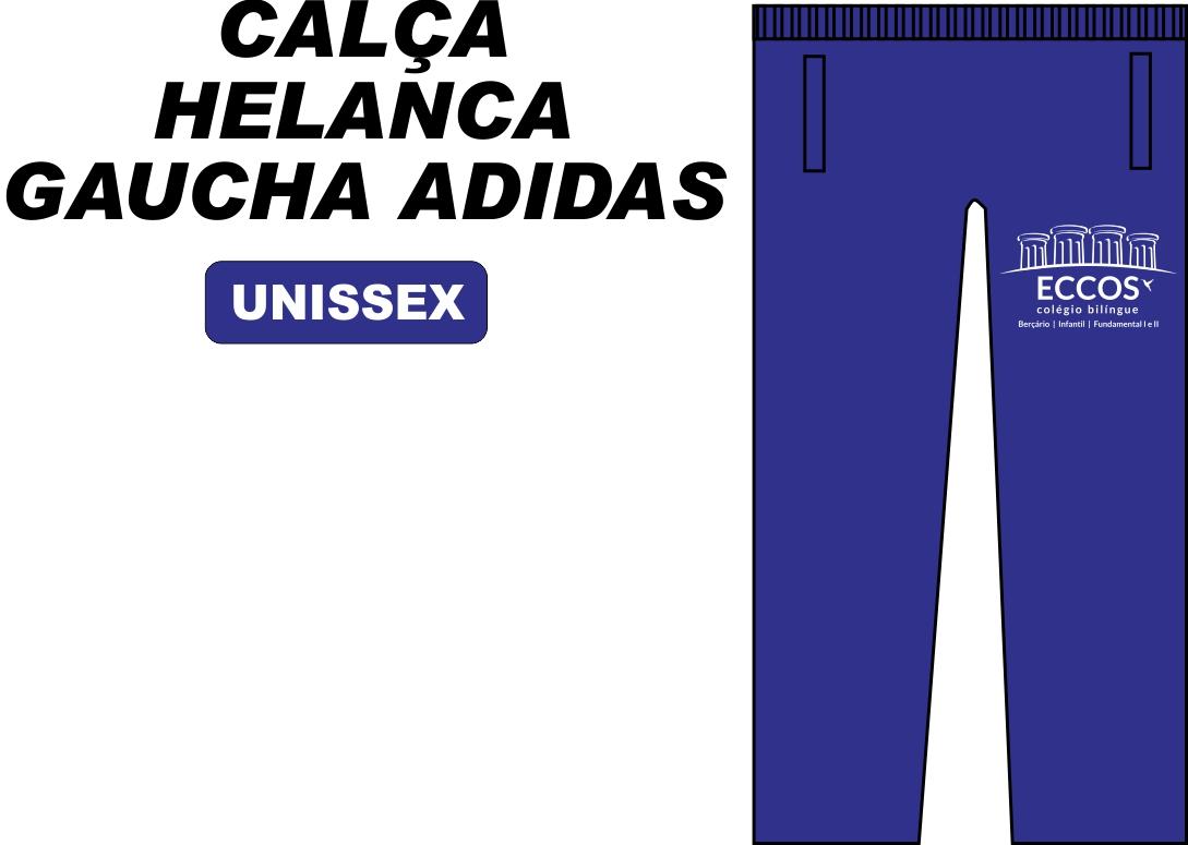 Calça Helanca Gaucha Adidas Eccos