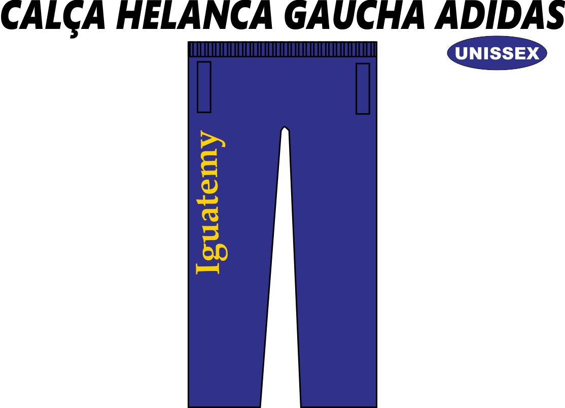 Calça Helanca Gaucha Adidas Iguatemy