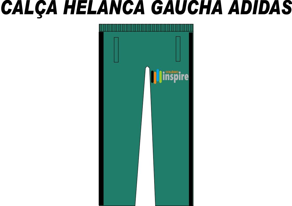 Calça Helanca Gaucha Adidas Inspire