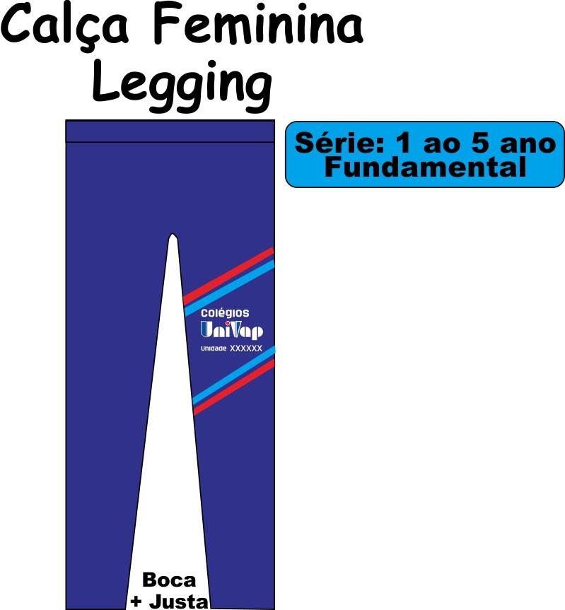Calça Legging Univap 1/5