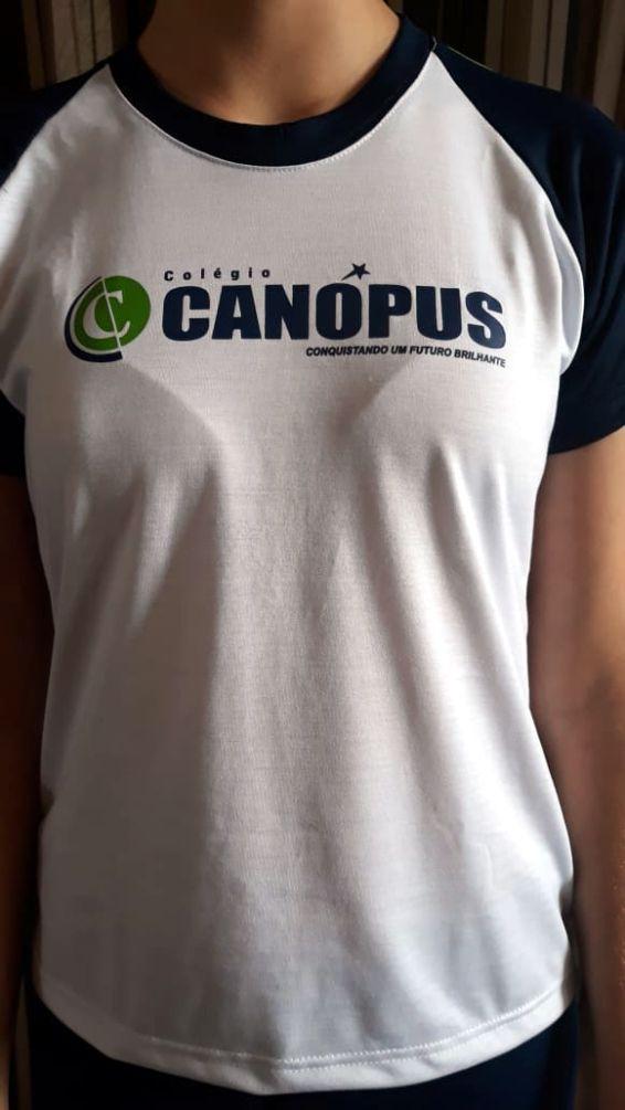 Camiseta Baby Look C/ Presponto Canópus