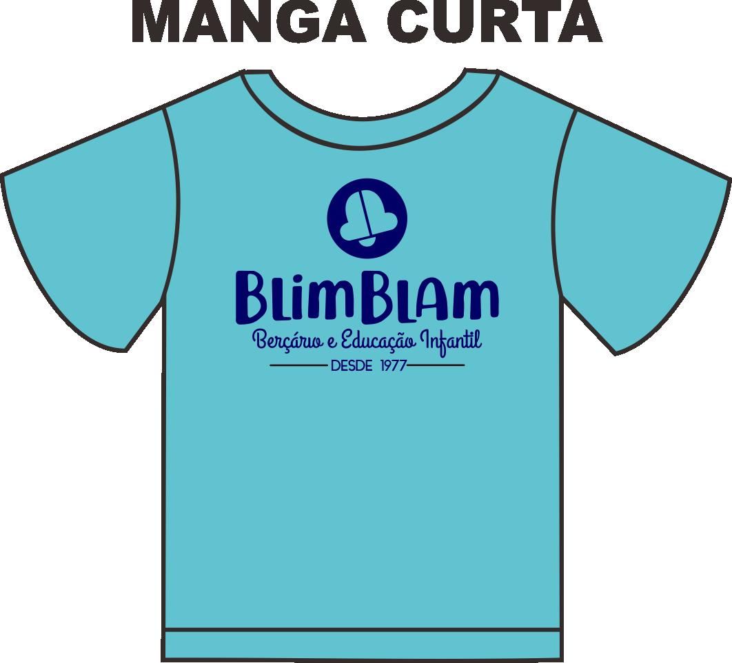Camiseta Manga Curta Blim Blam