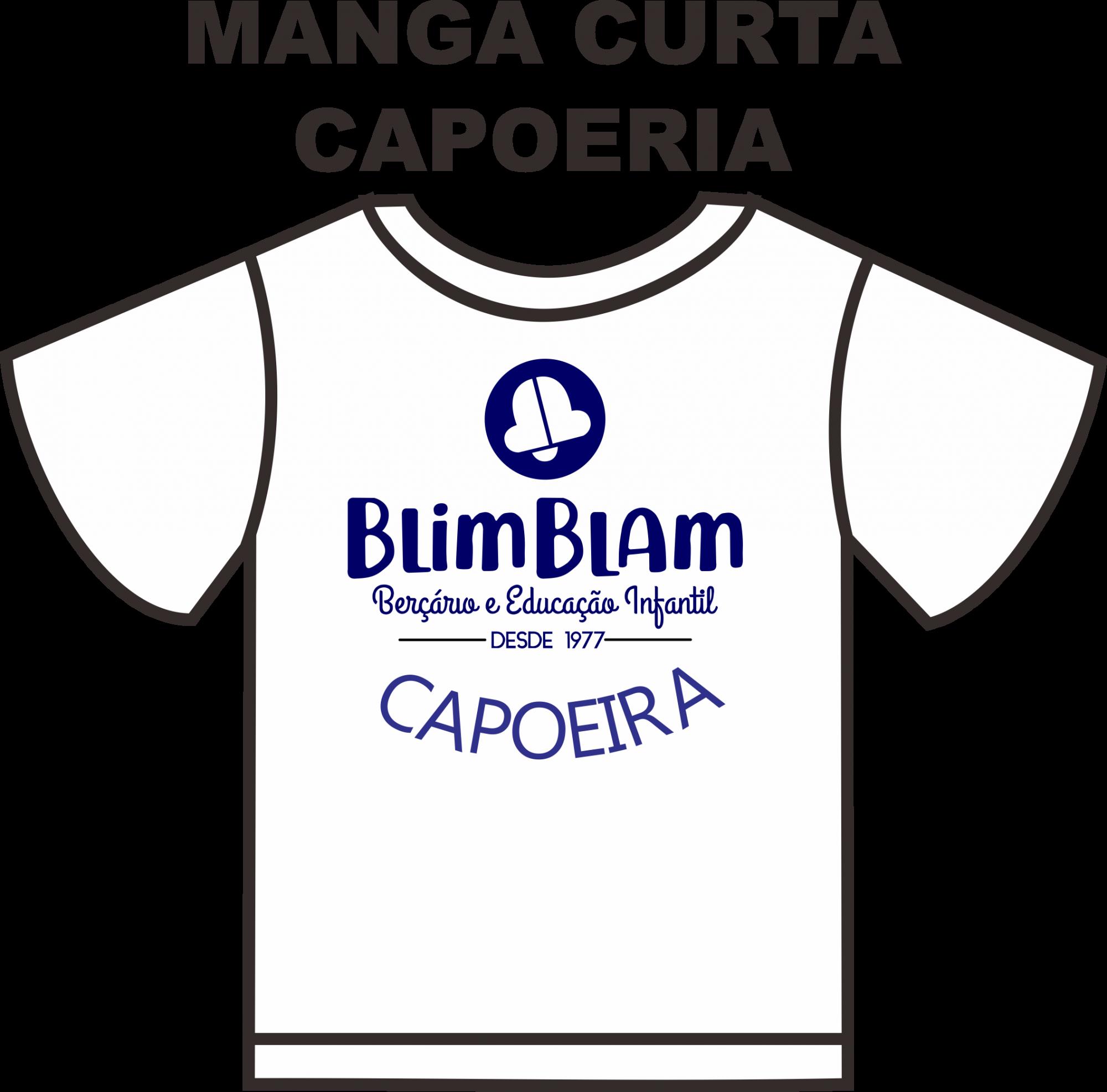 Camiseta Manga Curta Blim Blam CAPOEIRA