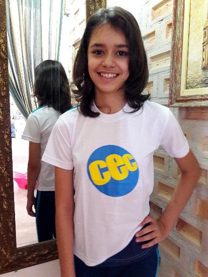 Camiseta Manga Curta CEC Malha PV