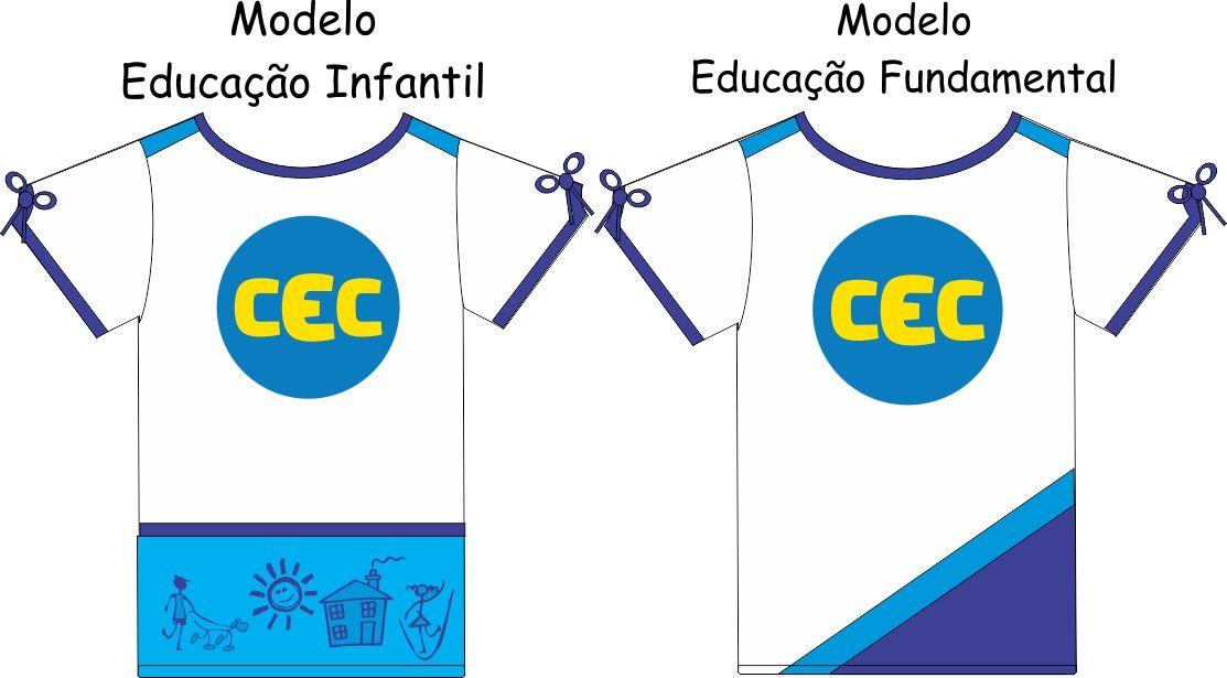 Camiseta Manga Curta Feminina CEC  Malha PV