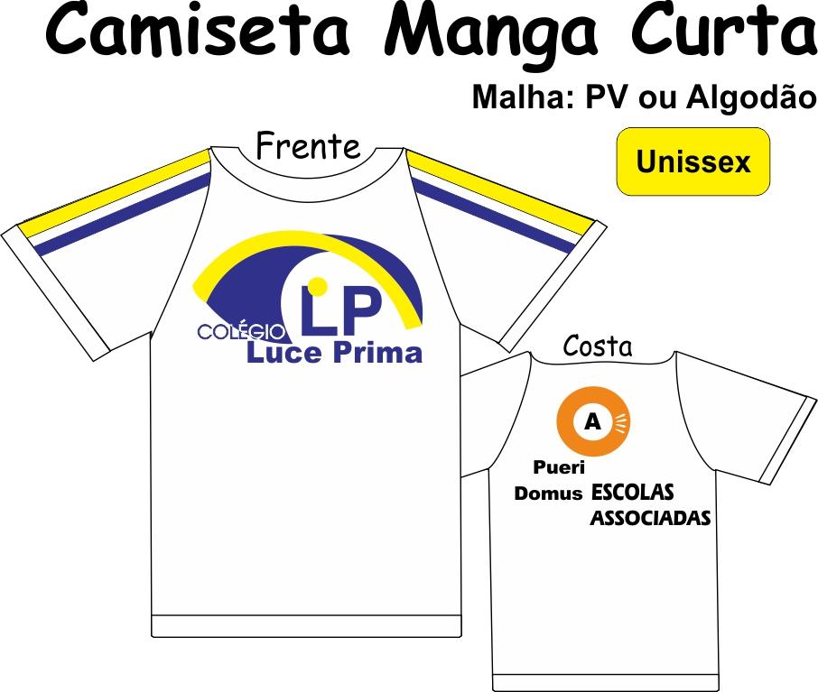 Camiseta Manga Curta Luce Prima