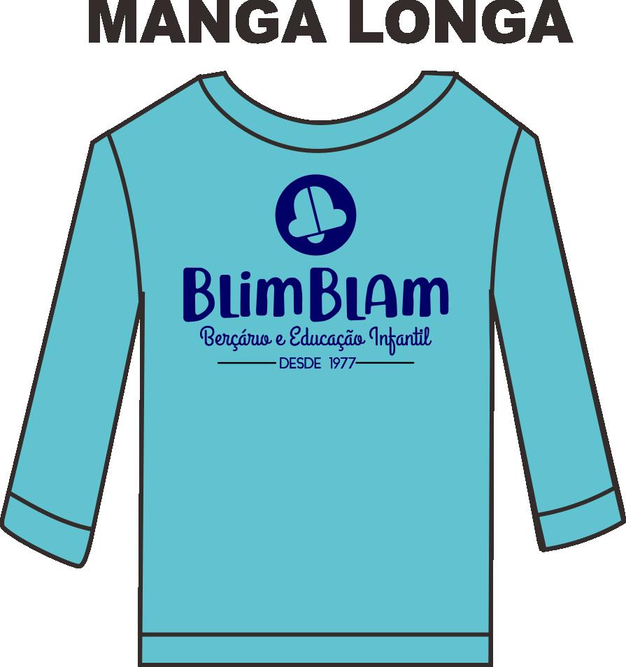Camiseta Manga Longa Blim Blam
