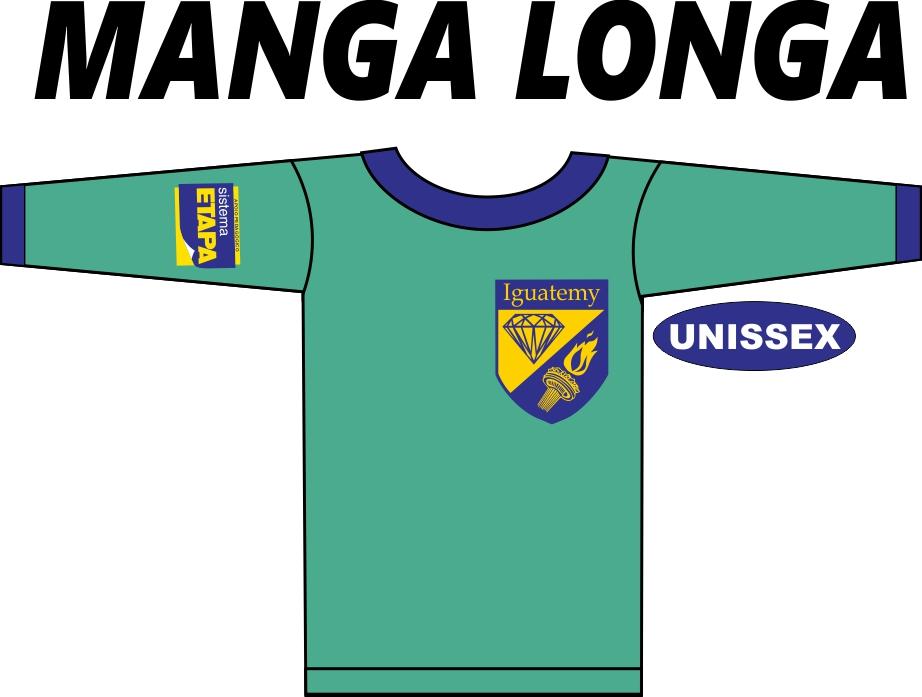 Camiseta Manga Longa Iguatemy Ed. Infantil ao Fundamental