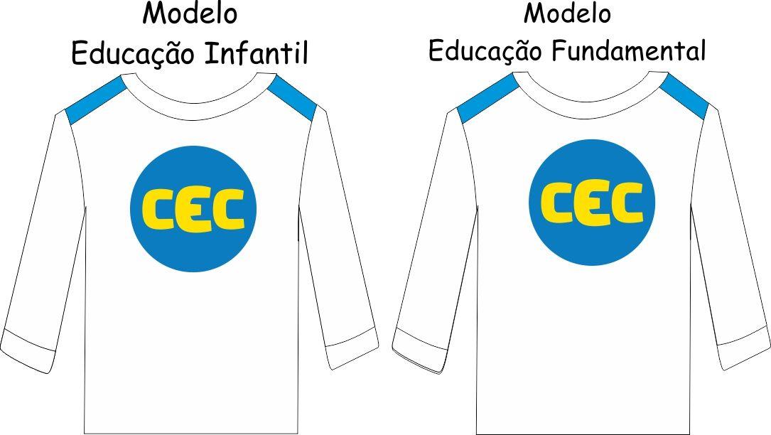 Camiseta Manga Longa Suedine CEC