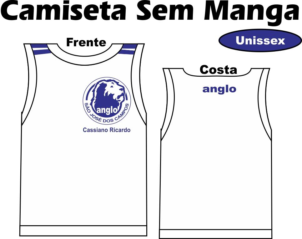 Camiseta Sem Manga Anglo SJC