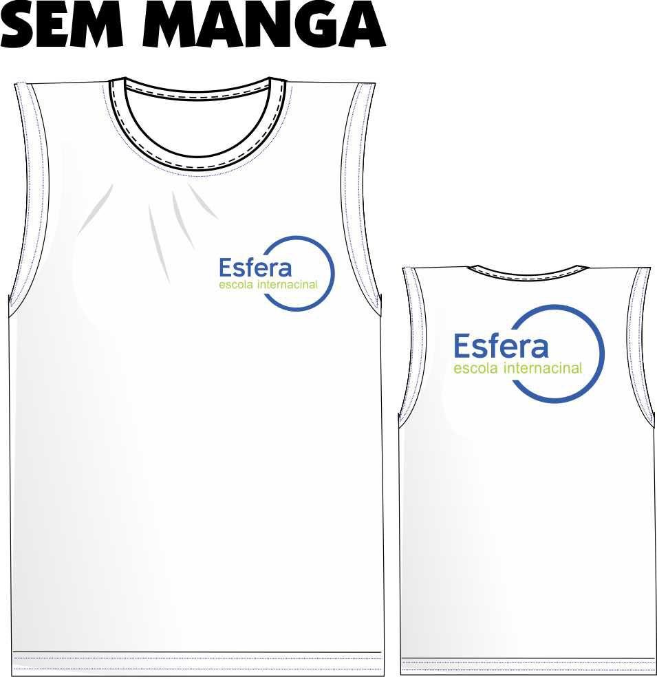Camiseta Sem Manga Esfera