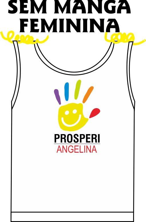 Camiseta Sem Manga Feminina Prosperi