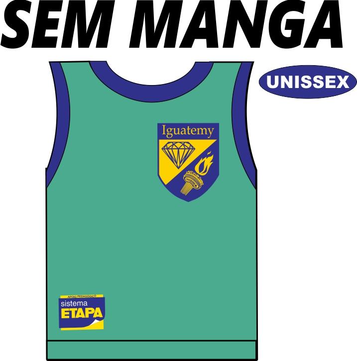 Camiseta Sem Manga Iguatemy Ed. Infantil ao Fundamental
