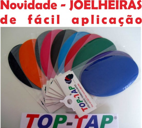 Joelheiras Termocolantes Top Tap - Reforço e Tapa Furos de Roupas