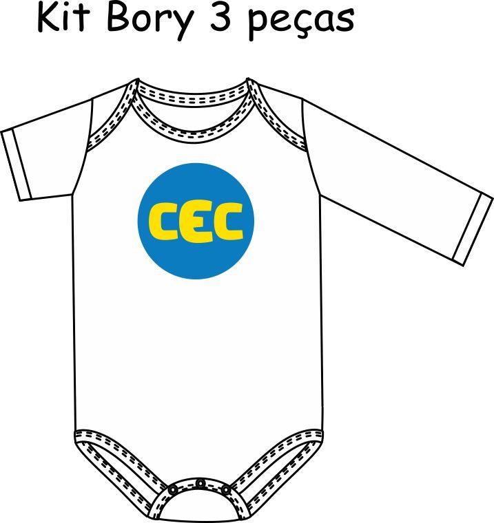 Kit 3 peças  Bory Bebê CEC