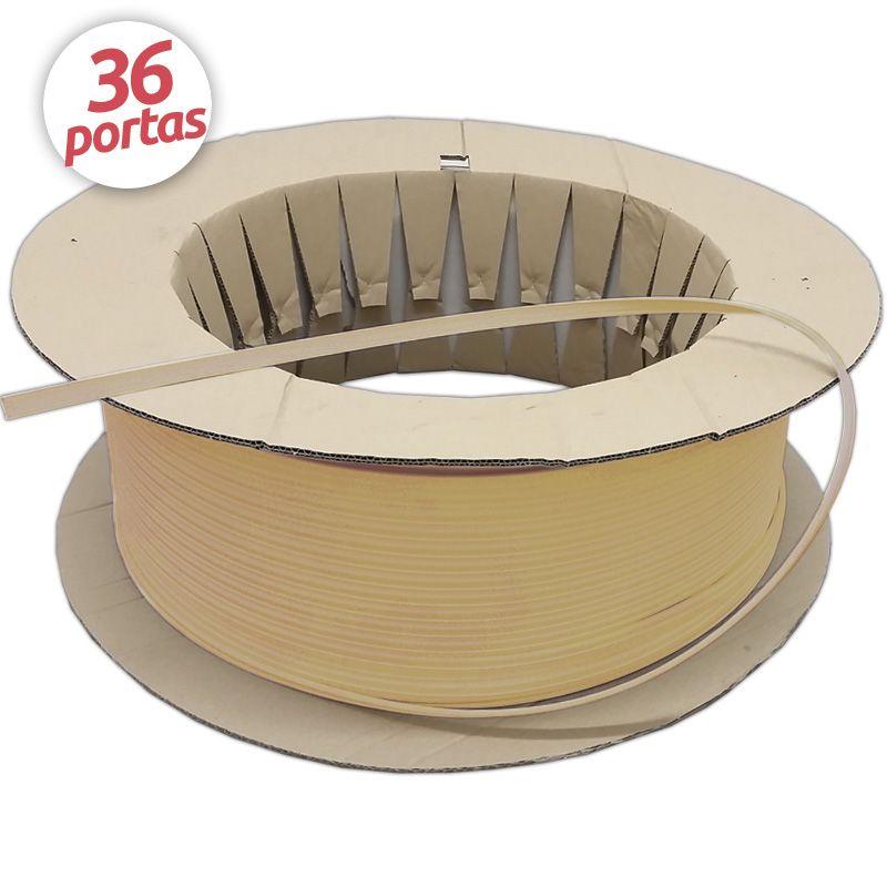 Borracha de Vedação para Porta Modelo Adesivo 5792 Rolo para 36 Portas