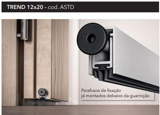Kit de Vedação para Porta Borracha Encaixe 5788 Marrom e Veda Porta de Embutir Automático