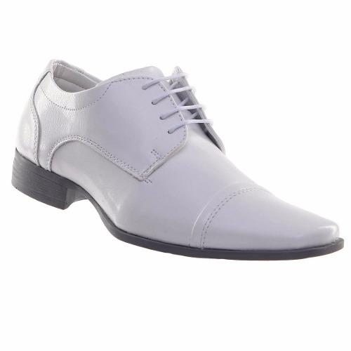 Sapato Social Masculino Branco Médico Enfermeiro Veterinário 73054
