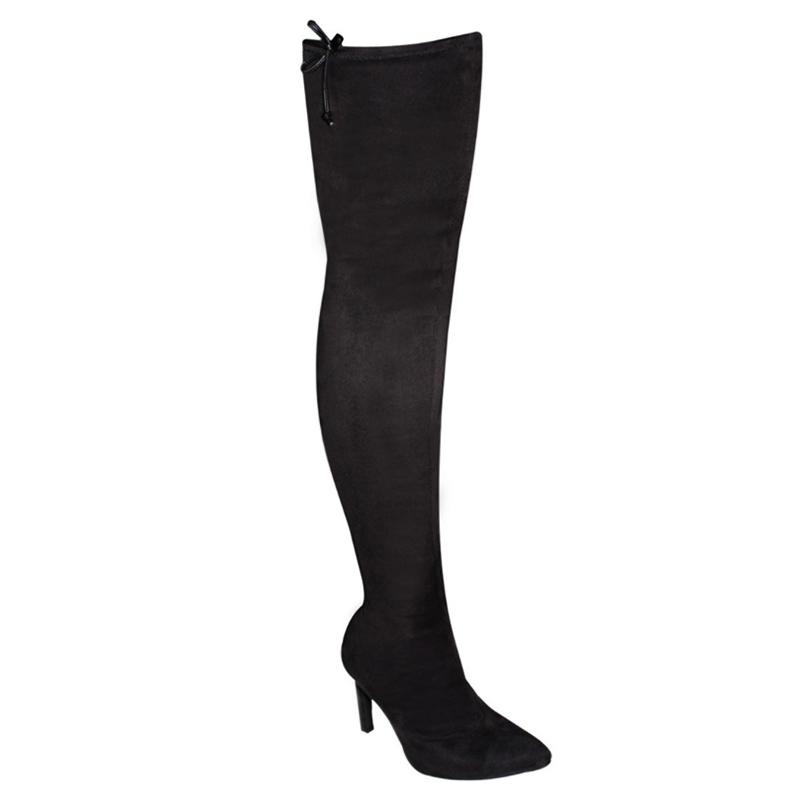 Bota Vizzano Over The Knee Camurça Stretch Turim 3049106